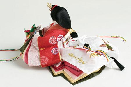 京雛人形・小十二番焼桐平台親王飾り 女雛