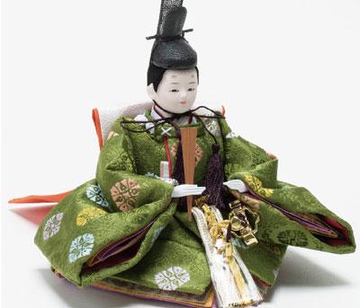 雛人形・京小十二番焼桐平台親王飾りNo1202B