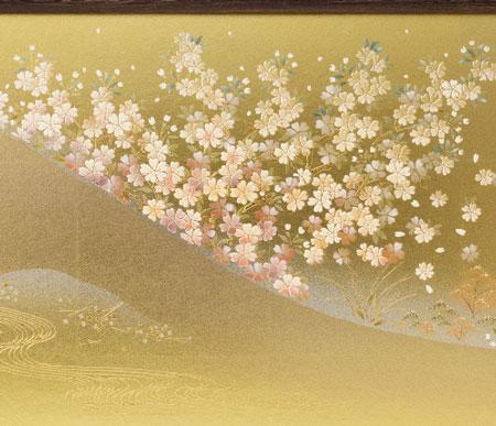 雛人形金彩桜屏風 3010B セット