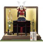 五月人形・国宝模写 紺糸威模写鎧平台飾り No321F