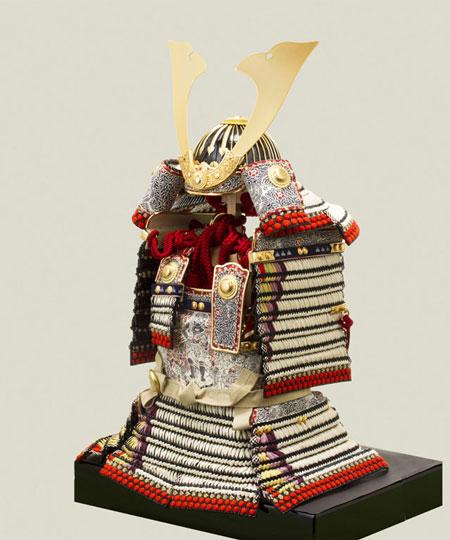 白糸威褄取の大鎧 五分の二模写鎧 メトロポリタン美術館所蔵(アメリカ)