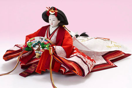 雛人形・五段飾り 京十番親王芥子十三人揃No5011 姫