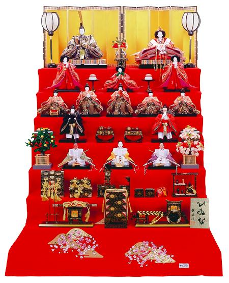 雛人形 七段飾り