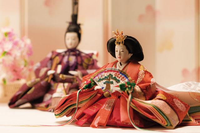 京十番焼桐平台親王飾りNo1014C 親王のイメージ
