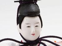 雛人形 京十番焼桐平台親王飾り No1012 男雛の顔