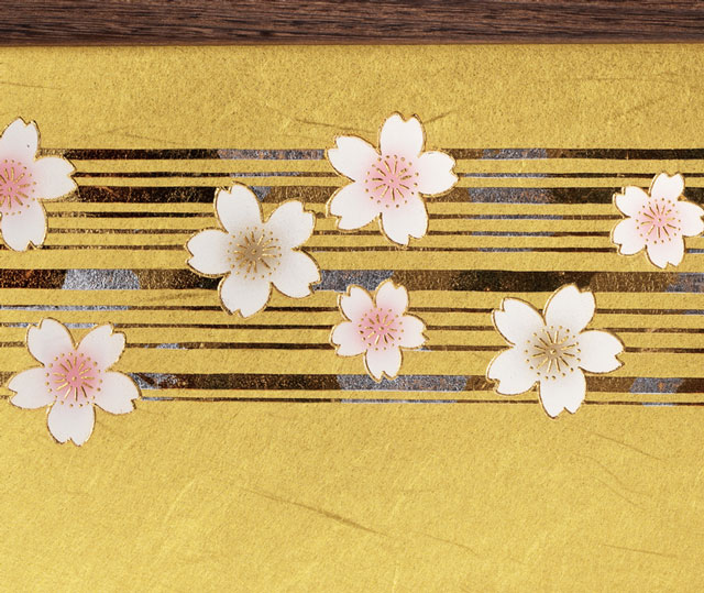 京十二番ミニ焼桐平台親王飾り No1303 ひな屏風