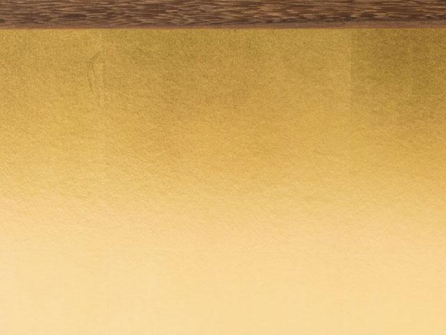 京小十番親王柳官女付焼桐三段飾りセット No2992 ひな屏風 金屏風
