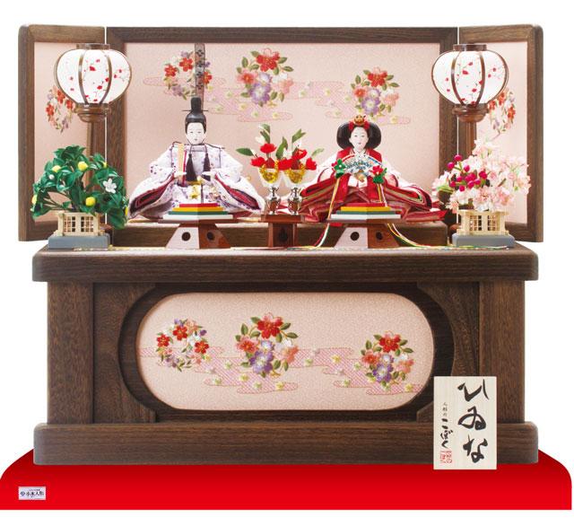 雛人形・京小十番親王焼桐収納飾りNo1020セット