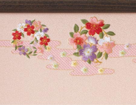 雛人形・京小十番親王焼桐収納飾りNo1020セット 雛屏風