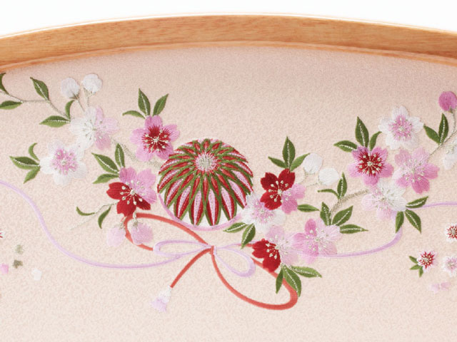 京小十番親王塗り桐収納飾りNo1021Cセット ひな屏風