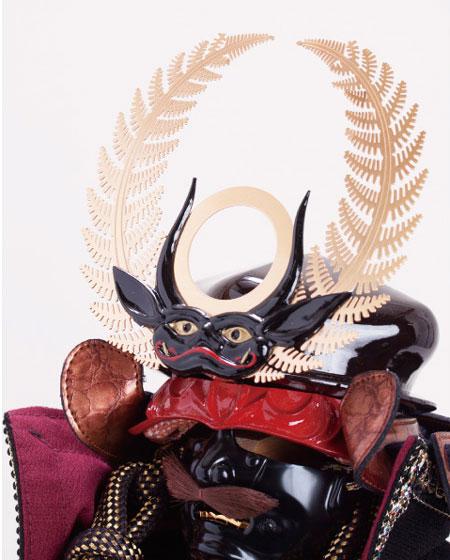 五月人形 徳川家康公 創作鎧竹千代 陣幕飾りNo4252