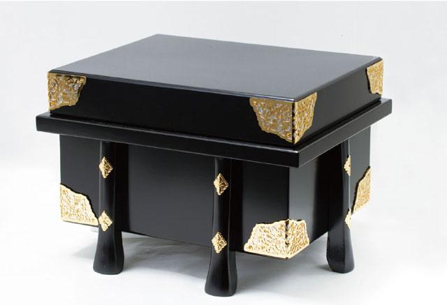 広島 厳島神社所蔵  国宝模写浅葱綾威兜飾りNo311-E 兜の唐櫃