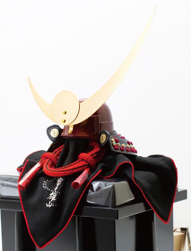 五月人形・上杉神社蔵 山形県文化財紫糸威具足模写兜 No3131 兜の本体