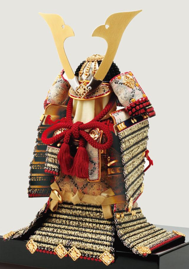 五月人形・国宝模写鎧兜 国宝模写 小桜黄返韋威大鎧 No321D 鎧全体