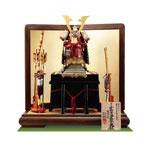 五月人形・人気国宝模写 小桜黄返韋威鎧 鎧平台飾り  No321D