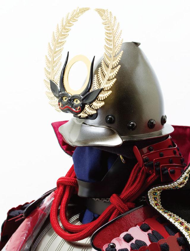 徳川家康公 日光東照宮所蔵 南蛮具足模写 No3252 南蛮鎧兜の部分