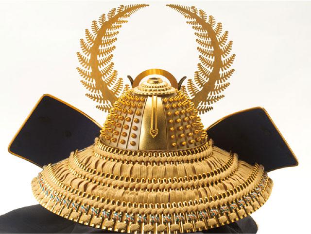 戦国武将着用兜収納飾り 徳川家康公 商品番号 No8151 兜の背面