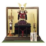 五月人形・大山祇神社所蔵 国宝紫糸威大鎧模写鎧飾りNo321-K