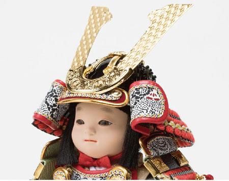 五月人形・子供大将飾り 幸一光作 No3914