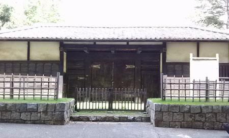 岩槻城城門(黒門)