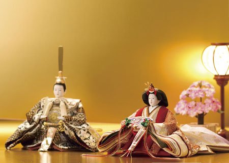 親王飾りの雛人形