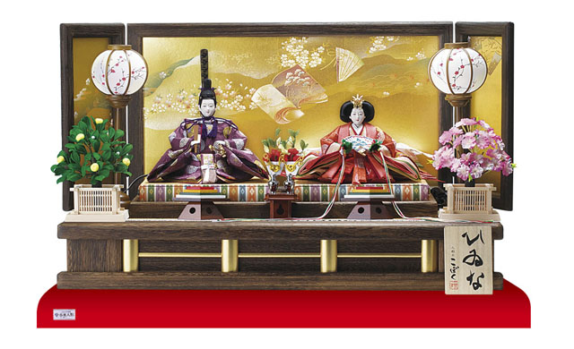 雛人形・親王飾りNo1014C