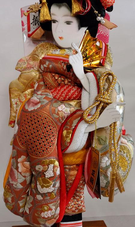 汕頭刺繍の羽子板飾り