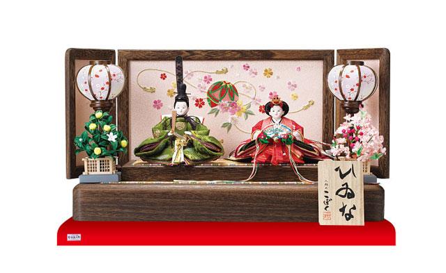 雛人形 親王飾りNO1202B