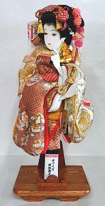 汕頭刺繍の羽子板
