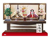 焼桐高床台親王飾りセット