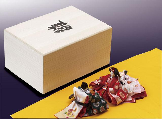雛人形 収納箱 桐箱