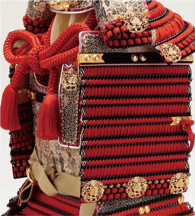 奈良 春日大社 国宝模写鎧兜 紅糸威之大鎧 梅飾り 商品番号No321L 胴体部分