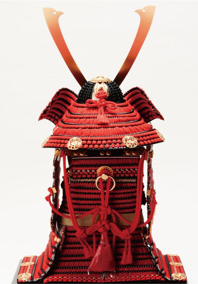奈良 春日大社 国宝模写鎧兜 紅糸威之大鎧 梅飾り 商品番号No321L 背面
