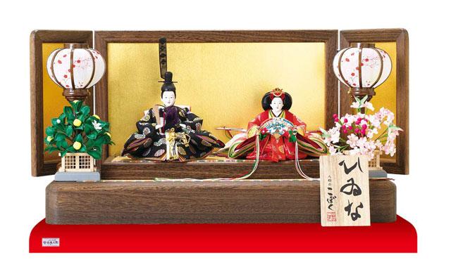 雛人形・京十二番焼桐平台親王飾りNo1201