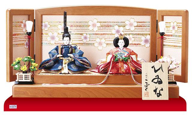 親王飾り・京十二番焼桐平台親王飾りNo1301