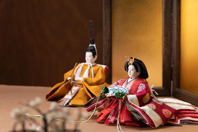 雛人形・黄櫨染親王イメージ