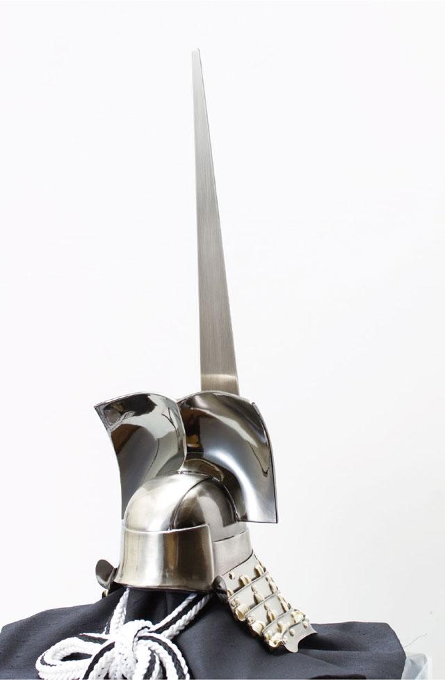 五月人形・徳川家康公 東京国立博物館所蔵一の谷形の兜模写 No3152