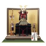 五月人形・国宝模写 小桜黄返韋威鎧 鎧平台飾り  No321D