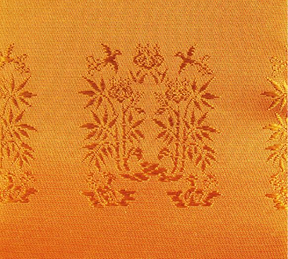 桐竹鳳凰の衣装の文様