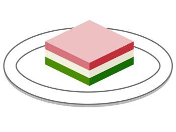 ひな祭り 桃の節句のお供え物 菱餅