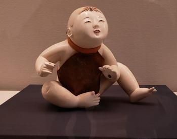 岩槻人形博物館所蔵 御所人形 座姿 江戸時代