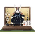 国宝・浅葱綾威大鎧 広島 厳島神社所蔵 鎌倉時代 模写平台兜飾りセット