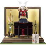 国宝・紺糸威大鎧 広島 厳島神社所蔵 平安時代末期 模写平台鎧飾りセット