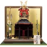 重要文化財・黒川韋威肩紅の大鎧 広島 厳島神社所蔵 室町時代 模写平台鎧飾りセット