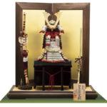 白糸威褄取大鎧 メトロポリタン美術館所蔵・室町時代 模写平台鎧飾りセット