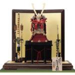 国宝奈良 紅糸威 梅飾りの大鎧 春日大社  鎌倉時代後期模写平台飾りセット